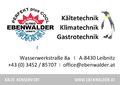 Kälte-Klima-Technik Ebenwalder